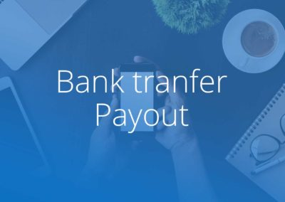Bank transfer Payout