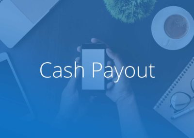 Cash Payout